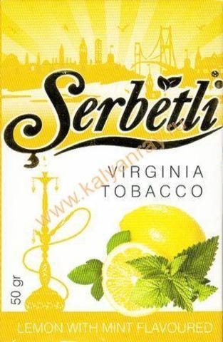 Serbetli Lemon with mint