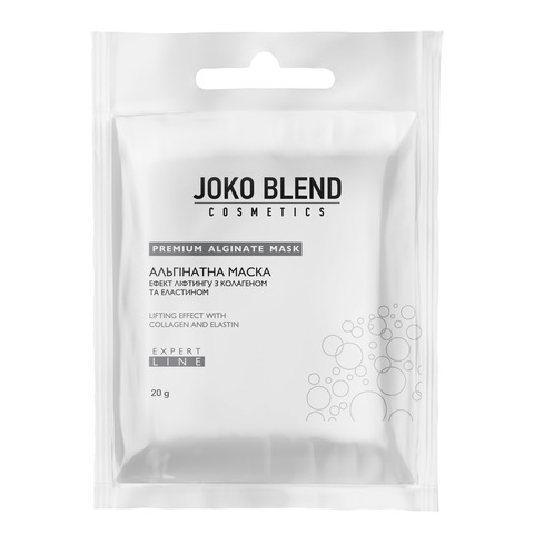 Альгінатна маска ефект ліфтингу з колагеном і еластином Joko Blend 20 г (1)