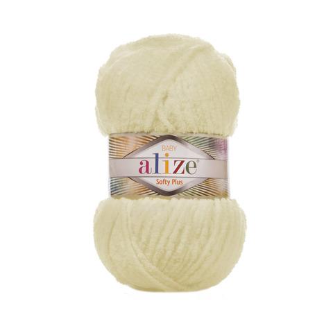 Купить Пряжа Alize Softy Plus Цвет 160 Медовый | Интернет-магазин пряжи «Пряха»