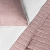 Комплект штор и покрывало Белла розовый