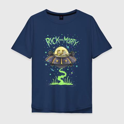 Футболка Rick and Morty (Spaceship) - L