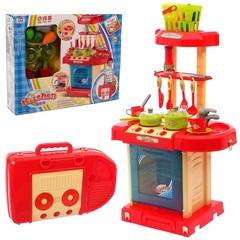 """Кухня """"Италия"""" в чемодане, с корзинкой и аксессуарами, высота 65,5 см"""