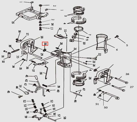 Шайба для лодочного мотора T9.8 Sea-PRO (11-19)