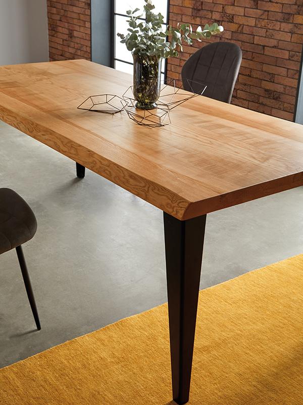 Обеденный стол DUPEN DT-107 Натурал BOSTON