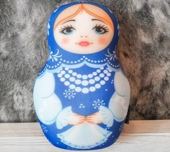 Мягкая игрушка-подушка Gekoko «Матрешка зимняя» 3
