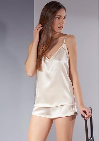 Изысканная женская шелковая пижама