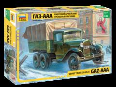 Сов. трёхосный грузовик «ГАЗ-ААА»