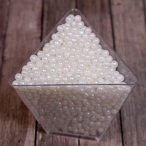 Сахарные шарики перламутровые