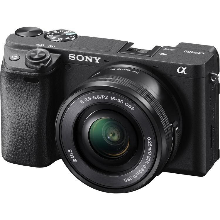 ILCE-6400LB фотоаппарат Sony Alpha A6400 Kit 16-50