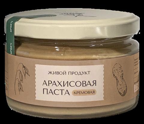 Арахисовая паста кремовая (сладкая)