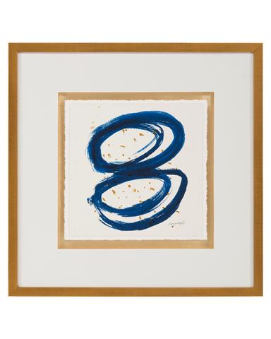 Dyann Gunter's Blue and Gold I