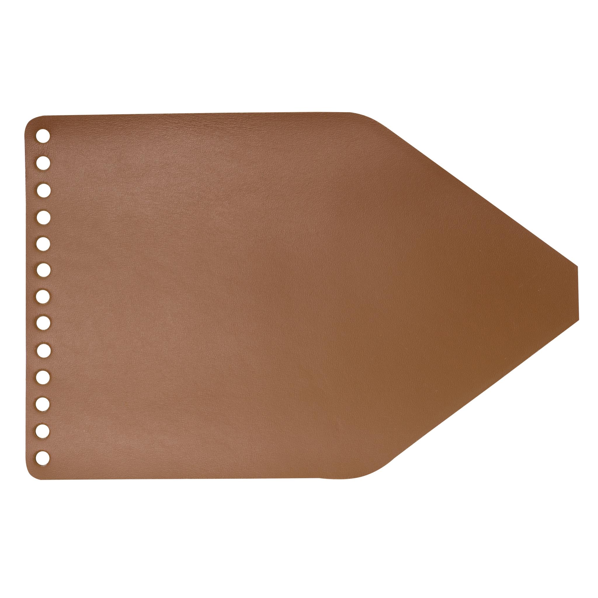 """Кожаная фурнитура Клапан для рюкзачка кожаный """"Какао"""" IMG_9752.jpg"""