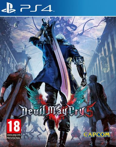 Devil May Cry 5 (PS4, русские субтитры)