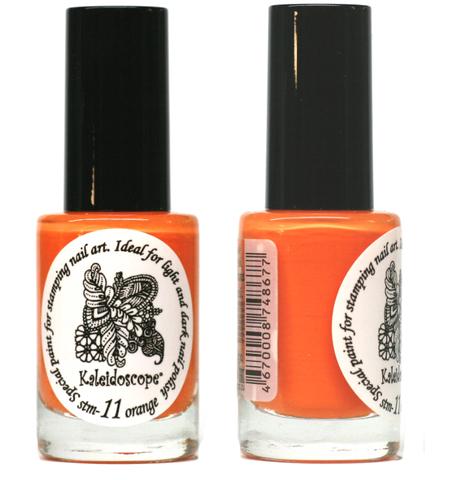 Kaleidoscope Лак для стемпинга №stm-11 Orange 9 мл