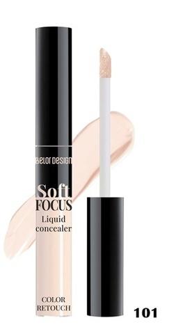BelorDesign Консилер жидкий Soft Focus тон 101 фарфоровый