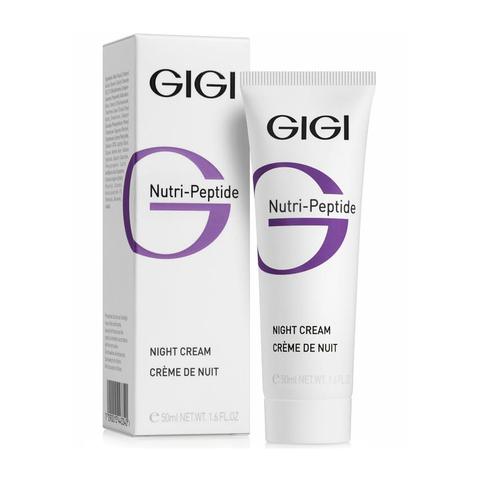 Пептидный ночной крем Night Cream, Nutri-Peptide, Gigi, 50 мл