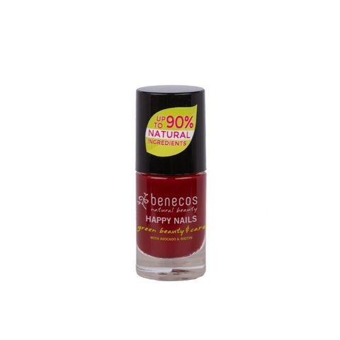 Лак для ногтей «Вишневый Красный» Benecos, 5 мл