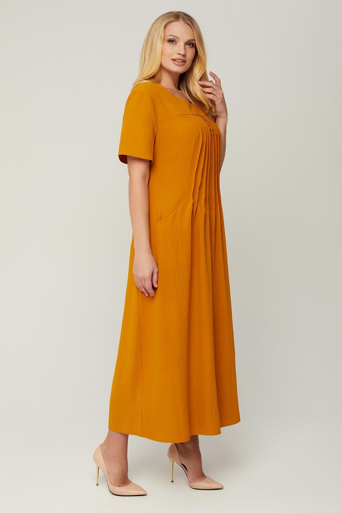 Сукня Селія (гірчиця)