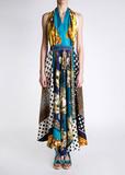 Платье длинное D&G