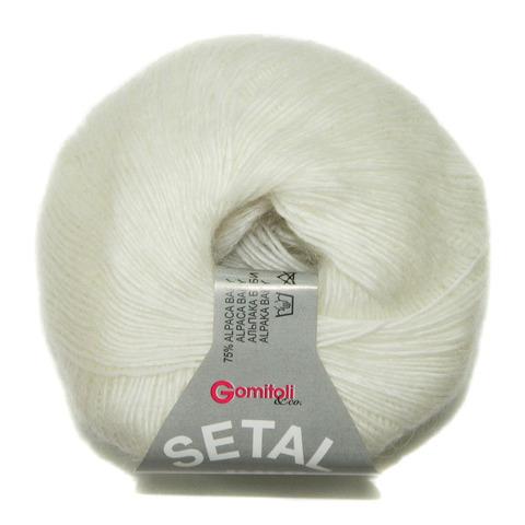 Купить Пряжа BBB Setal Код цвета 0100 | Интернет-магазин пряжи «Пряха»
