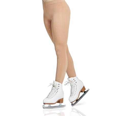 Колготки для выступлений Mondor (модель 911) в ботинок со стразами.