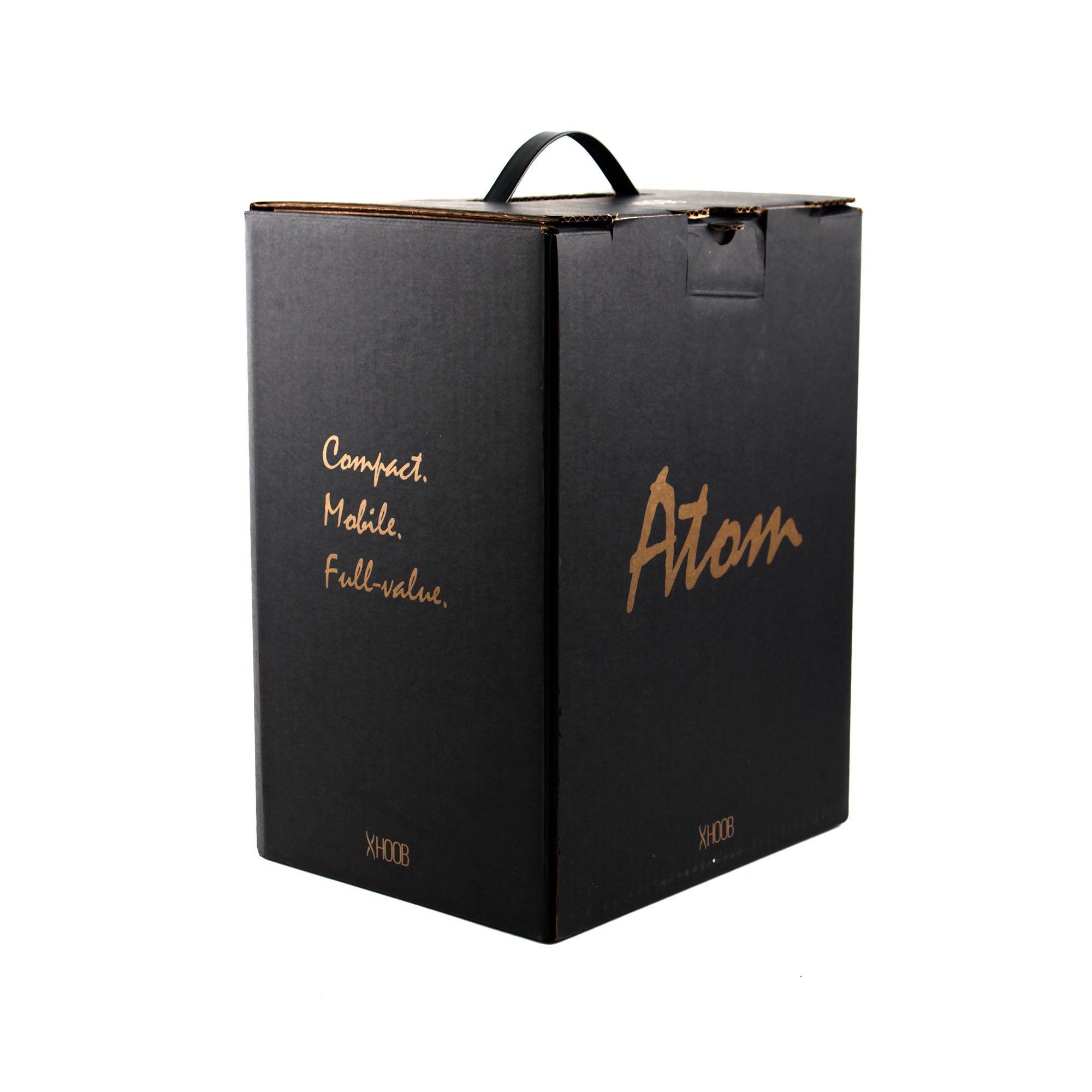 Фирменная коробка для Hoob Atom С Black