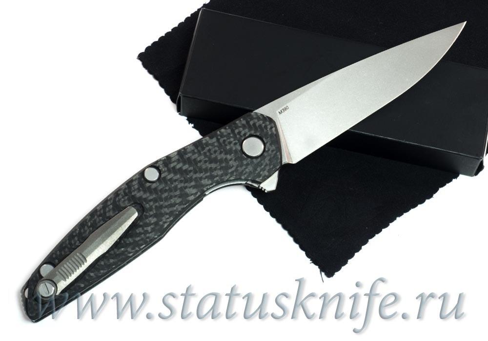 Нож Широгоров 111 М390 Карбон 3D - фотография