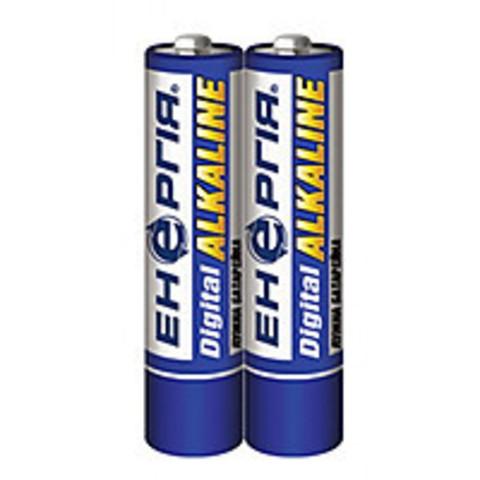 Батарейки Энергия Alkaline LR03, ААА, 2шт трей 40/1200