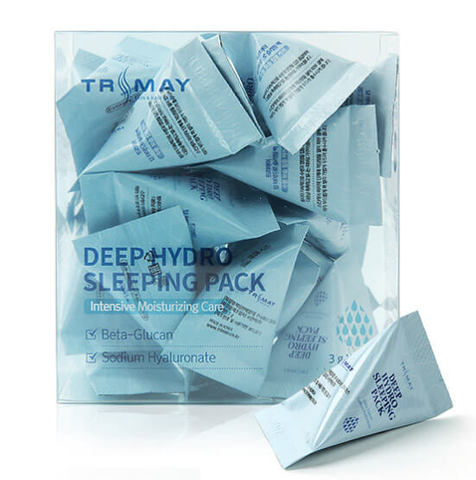 Увлажняющая ночная маска с бета-глюканом Trimay Deep Hydro Sleeping Pack