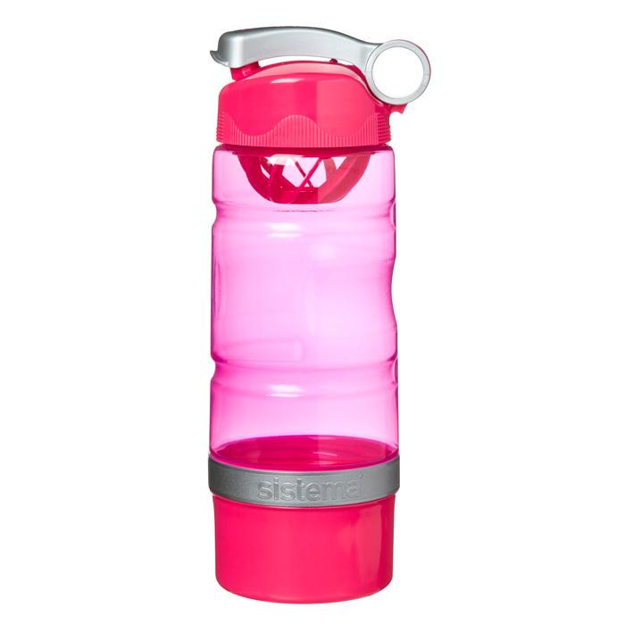 """Бутылка для воды Sistema """"Hydrate"""" 615 мл, цвет Розовый"""