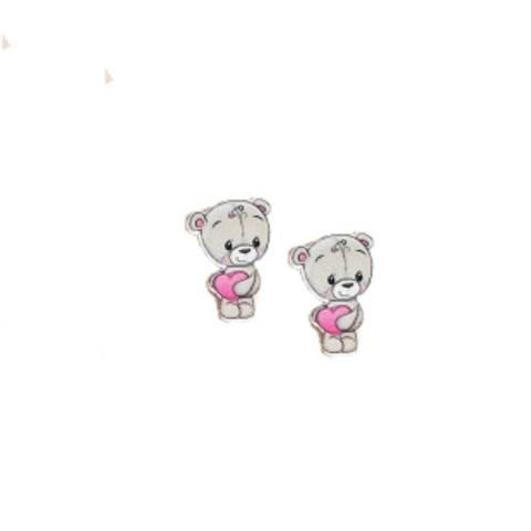Мишка  2,5*3,7см  арт250759 (в упаковке 2 шт)