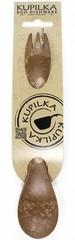Ложка-вилка Kupilka Spork 205, коричневый