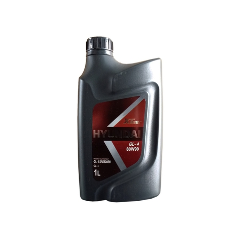 HYUNDAI XTEER GEAR OIL GL-4 80W90 Масло трансмиссионное (пластик/Корея)