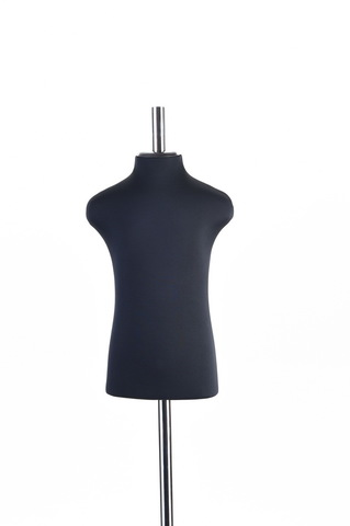 Портновский манекен девочки 40 размер ОСТ (черный)