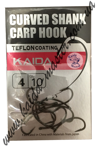 Крючки Kaida CARP HOOK №6