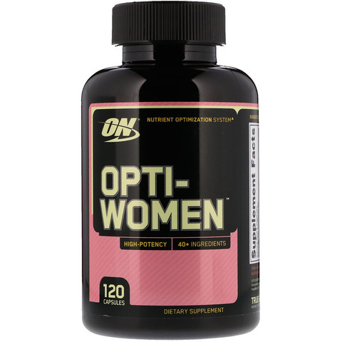 Optimum Nutrition Opti-Women витамины 120 капсул