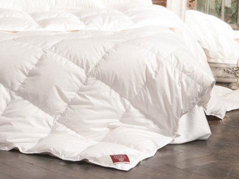 Одеяло пуховое кассетное теплое 150x200 «Grand Down Grass»