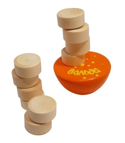 Игра «Пизанские башенки (1 основание + 10 плашек)»