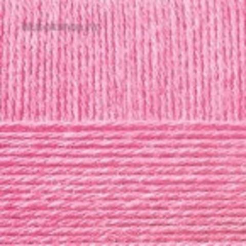 Пряжа Бисерная 11 ярко-розовый Пехорка, фото