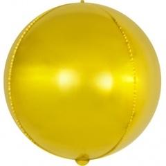 К Мини-сфера 3d, Золото, 15''/38 см, 1 шт.