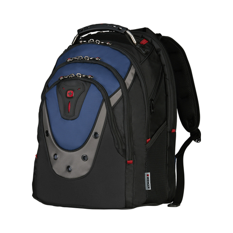 Рюкзак для ноутбука 17'' Wenger Ibex черный/синий