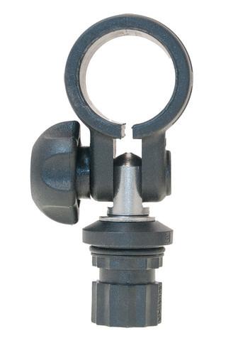 Хомут с адаптером Rl032 для трубы Ø 32 мм, черный