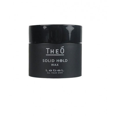 Lebel Theo: Воск для укладки волос сильной фиксации (Wax Solid Hold), 60мл