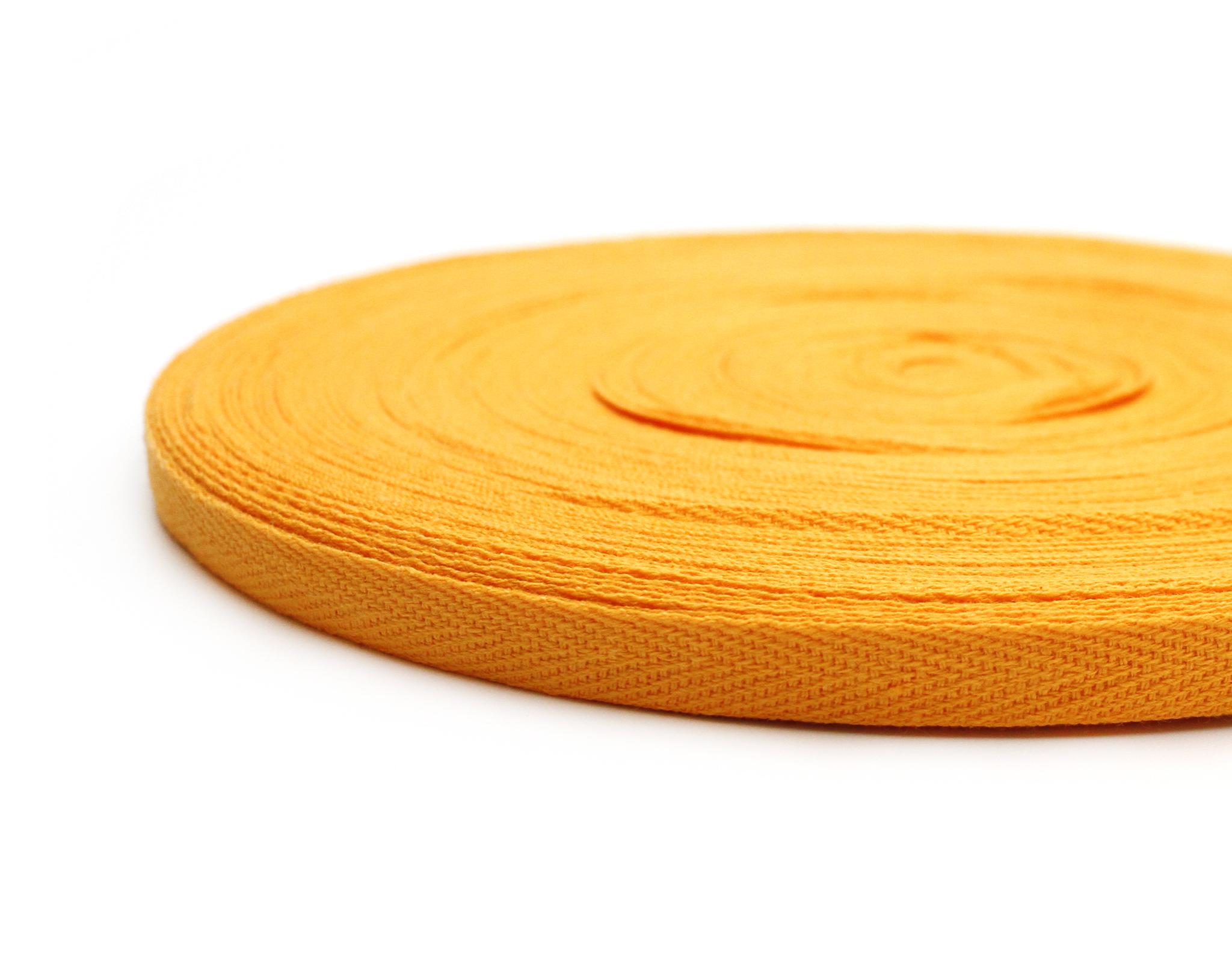 Лента киперная, 1см,желтая
