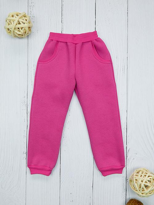Брюки с карманами, 2401, розовые