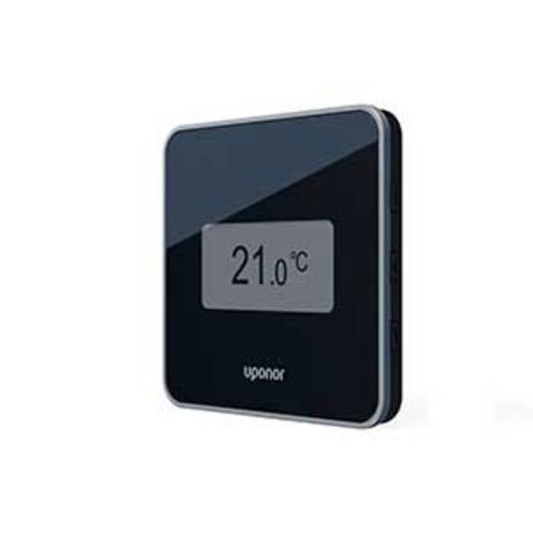Цифровой термостат +RH Style T-169 черный Uponor Smatrix Wave