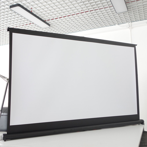Экран для проектора настольный 50 дюймов