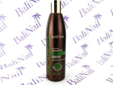 Kativa MACADAMIA  Увлажняющий шампунь для норм-х и поврежденных волос, 250 мл