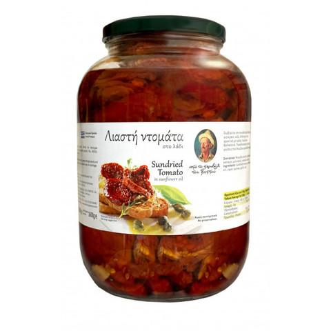 Вяленые помидоры в подсолнечном масле 1,6 кг.