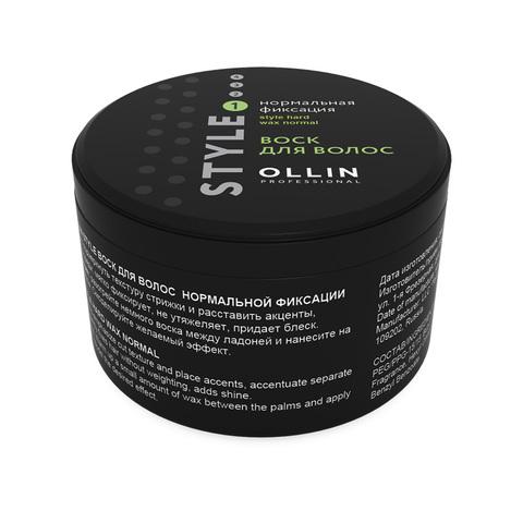 OLLIN PROFESSIONAL STYLE Воск для волос нормальной фиксации 75 мл